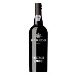 Barros Vintage 1983 Port Wine
