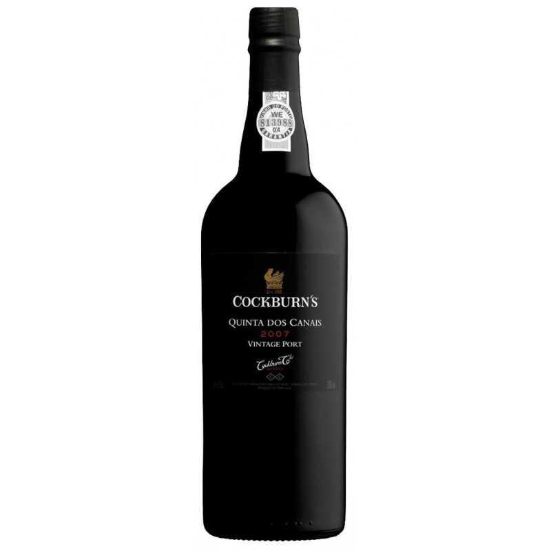 """Cockburn's """"Quinta dos Canais"""" Vintage 2007 Port Wine"""