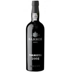 Barros Colheita 2001 Port Wine