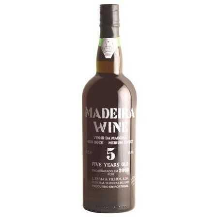 Madeira Wine 5 Years Old Medium Sweet