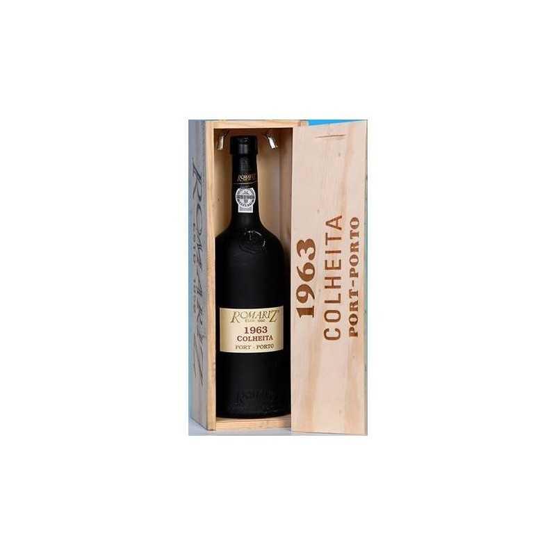 Vinho do Porto Romariz Colheita 1963