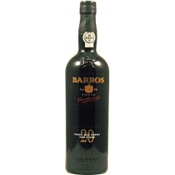 Barros 20 Years Old Port Wine