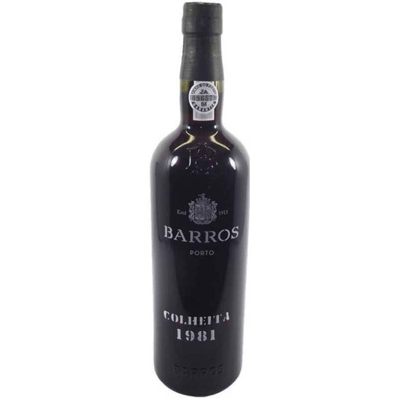 Barros Colheita 1981 Port Wine