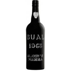 Blandy's Bual Vintage 1968 Madeira Wine