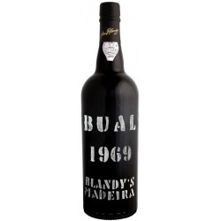 Blandy's Bual Vintage 1969 Madeira Wine