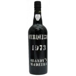 Blandy ' s Verdelho Jahrgang 1973 Madeira Wein
