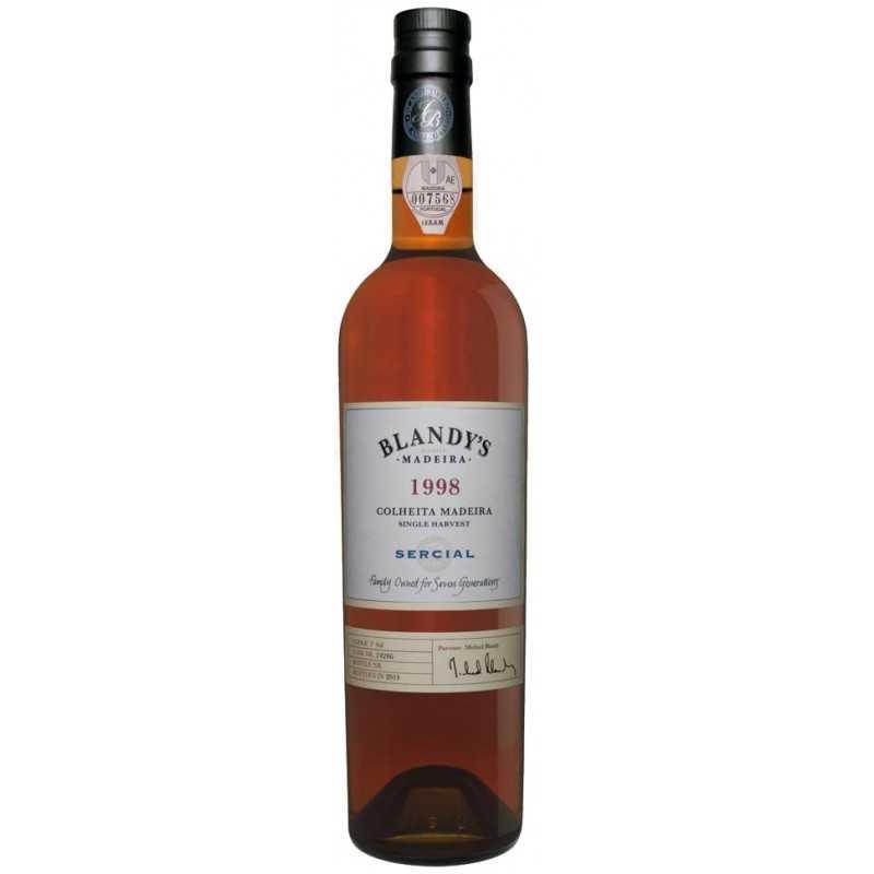 Blandy's Sercial Colheita 1998 Madeira Wine 500 ml
