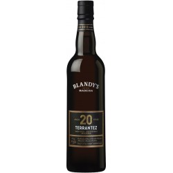 Blandy's 20 Years Terrantez Madeira Wine (500 ml)